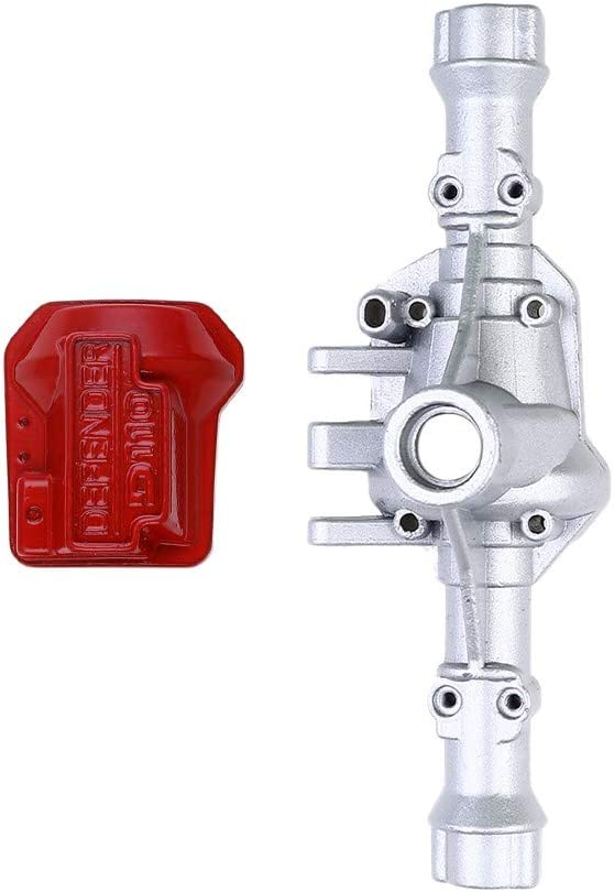 Eve.Ruan Upgrade Metal Front /& Rear Axle-Housing Shell Cover for Traxxas TRX4 1//10 RC Car Improve The Performance of Model Car and Add More Fun to Your Remote Control