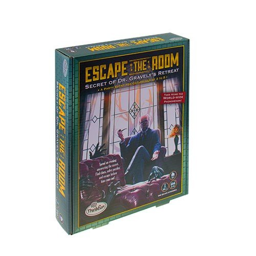 HCM Kinzel HCM11233 - Escape the Room 13 plus - Englische Version Brettspiel