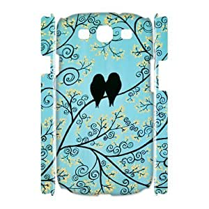 LoveBirds Custom 3D Cover Case for Samsung Galaxy S3 I9300,diy phone case ygtg622896