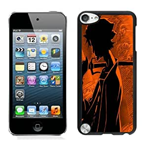 Fashionable DIY Custom Designed Mugen Cover Case For iPod Touch 5th Black Phone Case CR-424