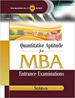 Image result for Quantitative Aptitude for MBA : Entrance Examination 1st Edition (Paperback) by Sulava