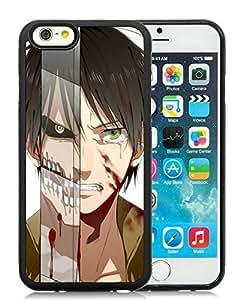 Fashion Designed Attack on Titan 9 Black iPhone 6 4.7 Inch TPU Phone Case