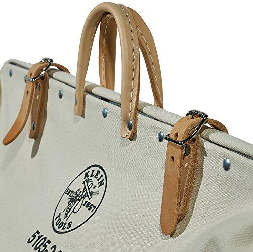 High-Bottom Canvas Tool Bag, 24-Inch Klein Tools 5105-24