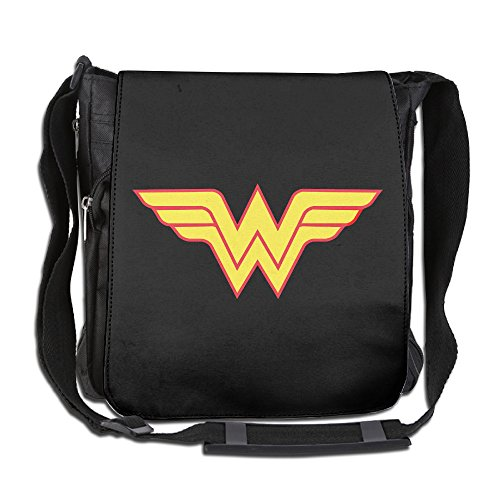 Price comparison product image CMCGH Avengers Wonder Woman Logo Messenger Bag Traveling Briefcase Shoulder Bag For Adult Travel And Business Trip