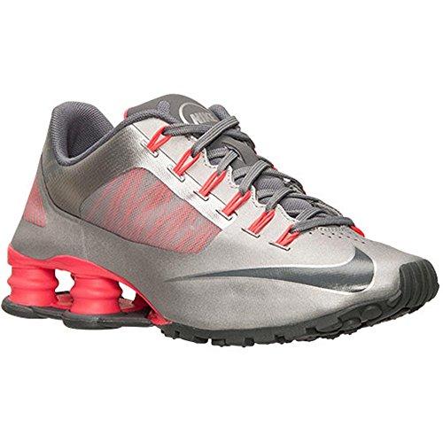 03e5f0b6d3c ... italy nike shox superfly r4 womens running shoes 653479 006 size 12 b  standard width metallic
