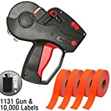 Monarch 1131 Price Gun With Labels Starter Kit: Includes Price Gun, 10,000 Fluorescent Red Pricing Labels and Inker