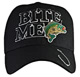 fishing cap - Bite Me Fishing Hat Black