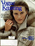 Vogue Knitting International - Winter Special 1989-90 (Sweaters, Gifts, Accessories, DKNY, Perry Ellis, Missoni)