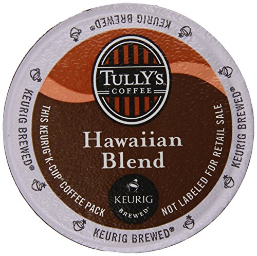 Tully's Coffee Hawaiian Blend K-Cups, 80 Count