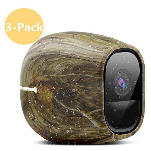 Silicone Skins Compatible for Arlo Pro and Arlo Pro 2 Cameras, Taken Protective Case Cover for Arlo Pro 2 and Pro Security Camera, for Netgear Accessories (3 Pack, Camouflage) (Camouflage Camera Case)