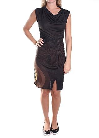 f1f5c673b9186 Robe Desigual Lactica Nc Couleur Marron Taille Xl  Amazon.fr ...