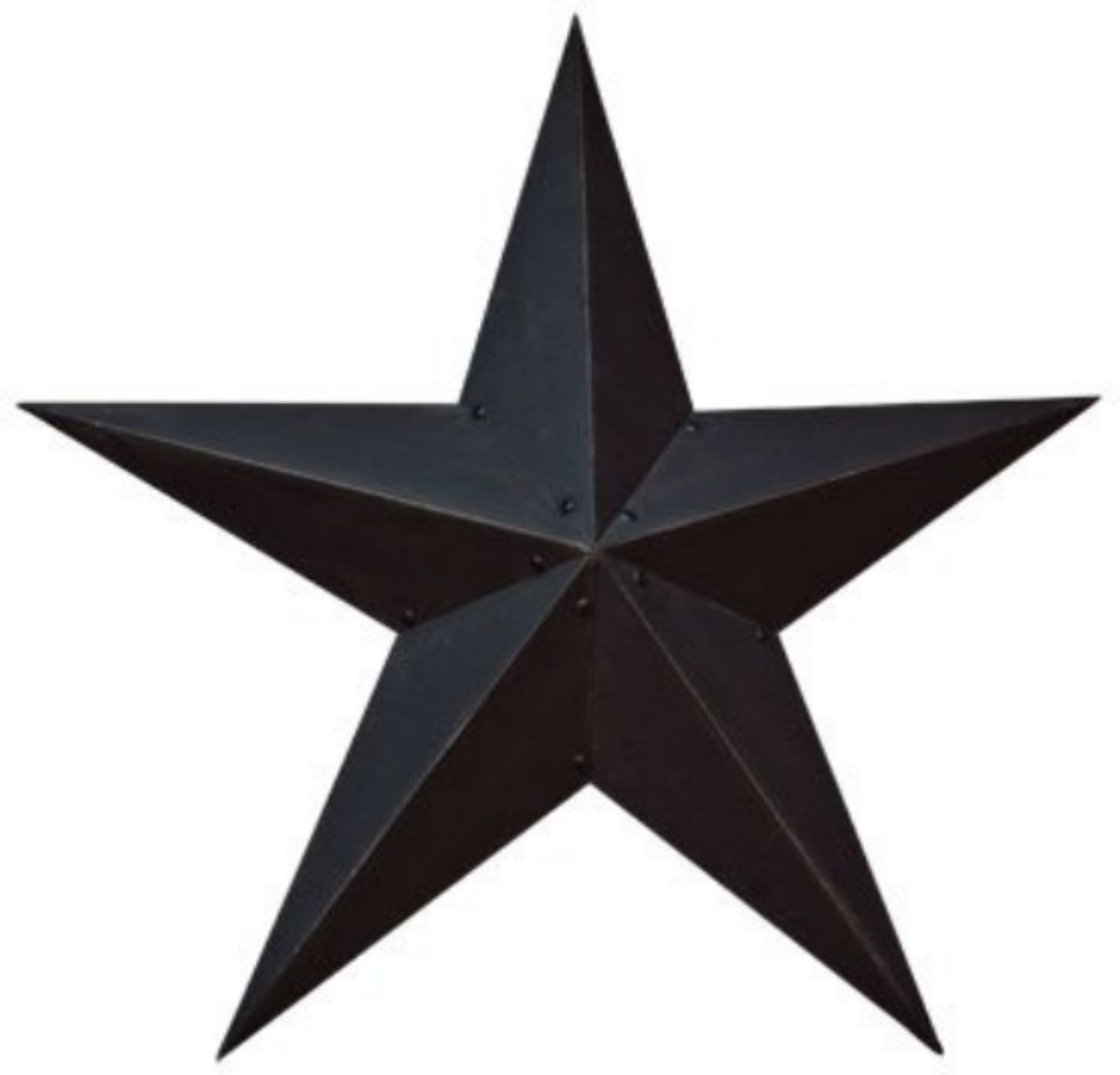 Hearthside Collection 36 Inch Black Star