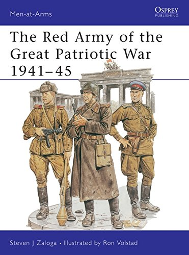 The Red Army of the Great Patriotic War 1941-45 (Men-at-Arms) (Soviet Army Wwii)