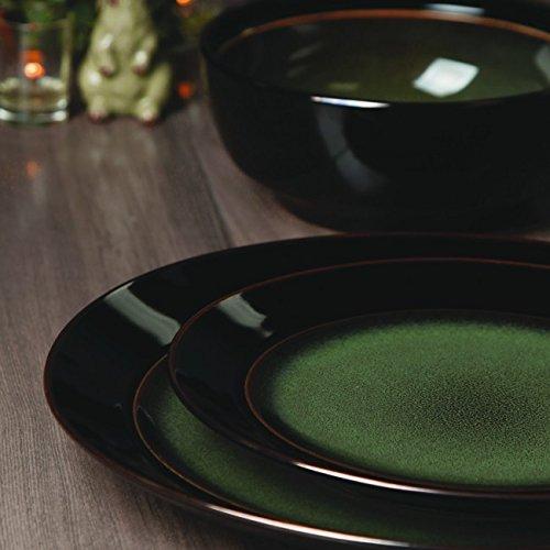 Belle Dinnerware (Bella Galleria Dinnerware Green 16pc)