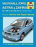 Vauxhall/Opel Astra & Zafira Petrol Service and Repair Manual (Haynes Service and Repair Manuals)