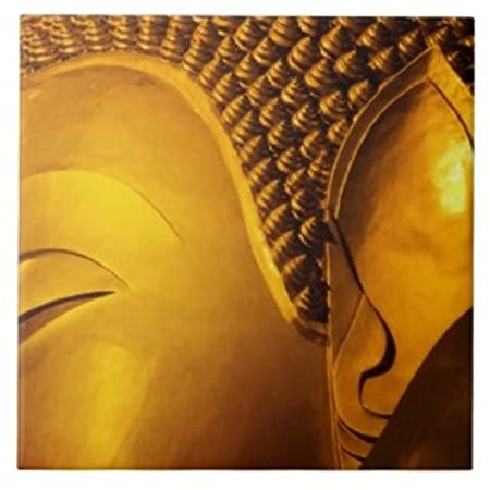 Buddha Photo Tiles Decorative Ceramic Wall Art Tile 4.25\