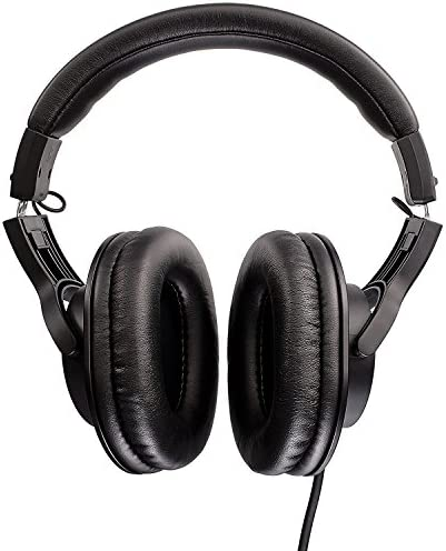 Audio-Technica ATH-M20x Professional Studio Monitor Headphones, Black 51jxmQuwSkL