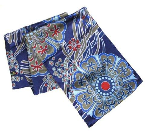 Dancing Stars on Blue - Pangborn Design Scarf -
