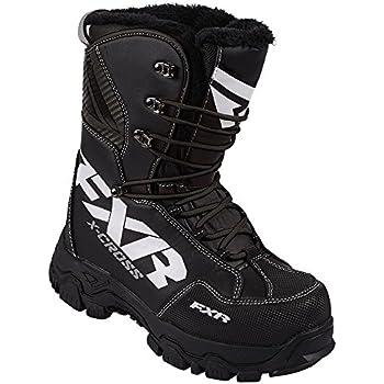 Amazon.com: FXR Racing Xcross Snowmobile Boots Black Mens