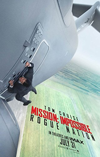 MISSION IMPOSSIBLE 5 ROUGE NATION MOVIE POSTER 2 Sided ORIGINAL 27x40 TOM ()