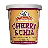 Straw Propeller Gourmet Foods Natural Gourmet Oatmeal, Cherry and Chia, 2.6 Ounce (Pack of 12)