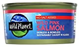 Wild Planet, Alaska Pink Salmon, No Salt Added, 6 Ounce