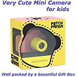 Patch Panda Kids Mini Camera Children Kids Camera Digital Camera 1080P Sports Camera Camcorder DV Boys Birthday Toy 1.5 LCD 3 4 Year Old boy Girl Toys (Pink)