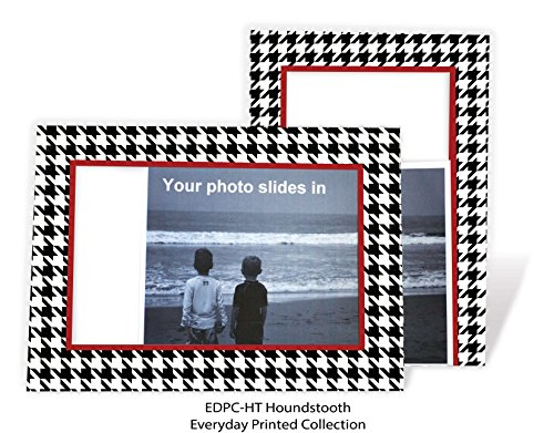 Houndstooth 4x6 Photo Insert Note Cards - 24 Pack by Plymouth Cards