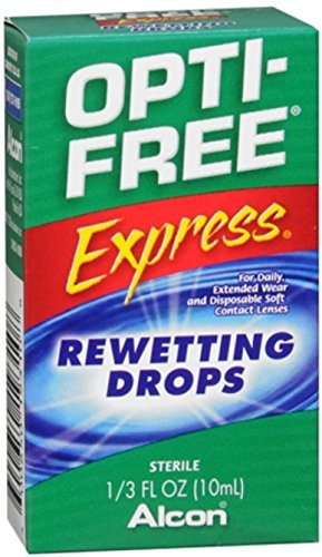 OPTI-FREE EXPRESS Rewetting Drops 10 mL (Pack of -