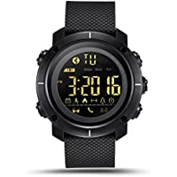 Lemfo LF19 Waterproof Digital Mens Smart Watch (Black)