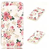 LG G5 Case,Veggzy [Drop Protection] Slim Lightweight Heavy Duty Shock Absorption Bumper Cover Ultra Thin Flexible Soft TPU Scratch Resistant Protective Case for LG G5 2016 (flower2)