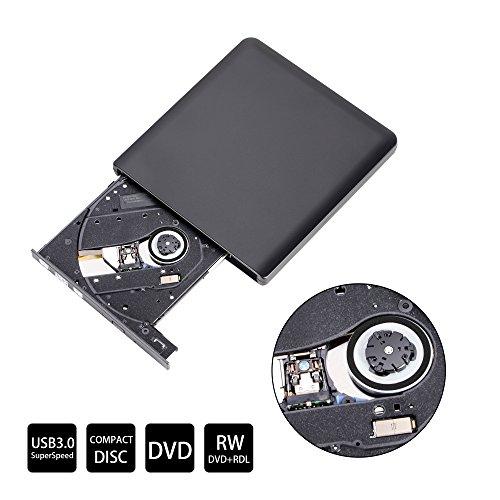 USB3.0 DVD Burner Drive 5.0Gbps External Pop-up CD Recorder