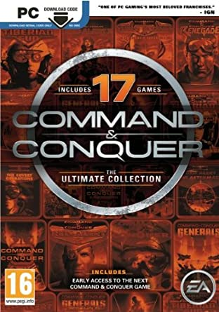 Command & Conquer - Anthology pc dvd-ის სურათის შედეგი