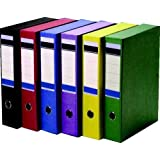 A4 x 1 Strong Coloured Box Files - Red Pluto Packaging
