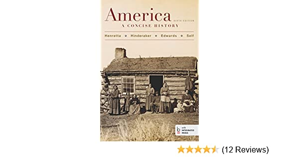 Amazon america a concise history sixth edition combined amazon america a concise history sixth edition combined volume ebook james a henretta david brody kindle store fandeluxe Choice Image