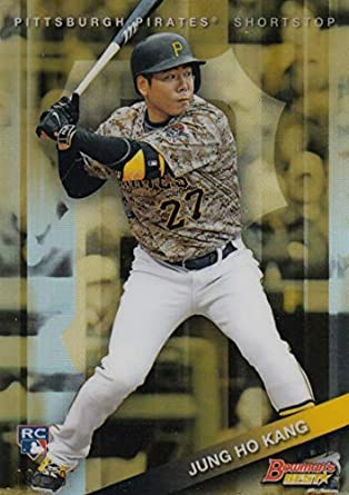 2015 Bowman/'s Best Refractors #49 Jung Ho Kang Pittsburgh Pirates