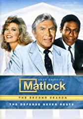Matlock is a legal drama series starring Andy Griffith as defense attorney Ben Matlock - a Harvard-educated, fiery southerner who charges $100,000 a case to brilliantly defend his clients by finding the real killer.High-profile Atlanta defens...