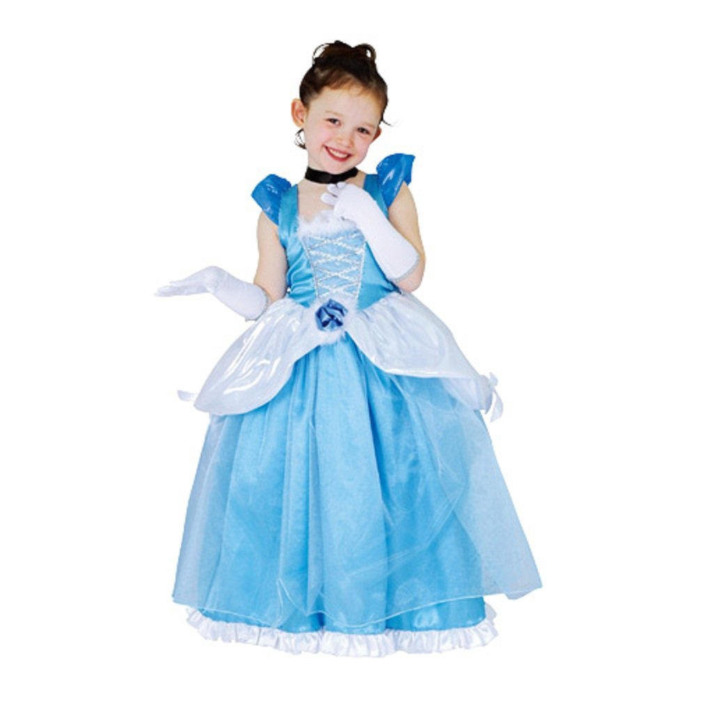 Disney Deluxe Cinderella Costume -- Child M Size by STEAMPUNK (Image #1)