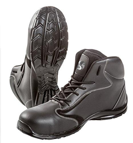 Seba 587CE Schuh hohe, Schwarz S3SRC, Größe 43