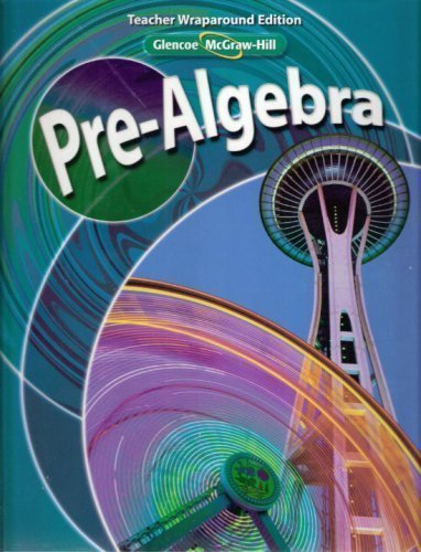 Glencoe McGraw Hill Pre Algebra Teacher Wraparound