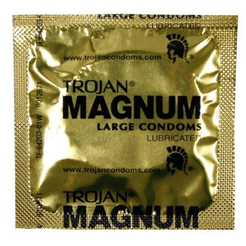 Trojan MAGNUM Lubricated: 100-Pack of Condoms by Trojan