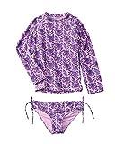 Egg Girls Egg Kaitlyn 2Pc Swim Set, 18M, Purple