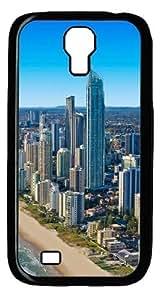 Gold Coast Custom Samsung Galaxy I9500/Samsung Galaxy S4 Case Cover Polycarbonate Black