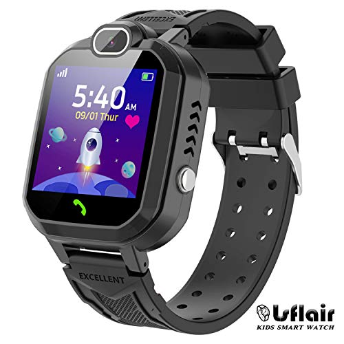 Smart Watch for Kids – Children Smart Watches Phone Two Way Call,Alarm Clock,Game,Music Player,Calculator,Camera,HD…