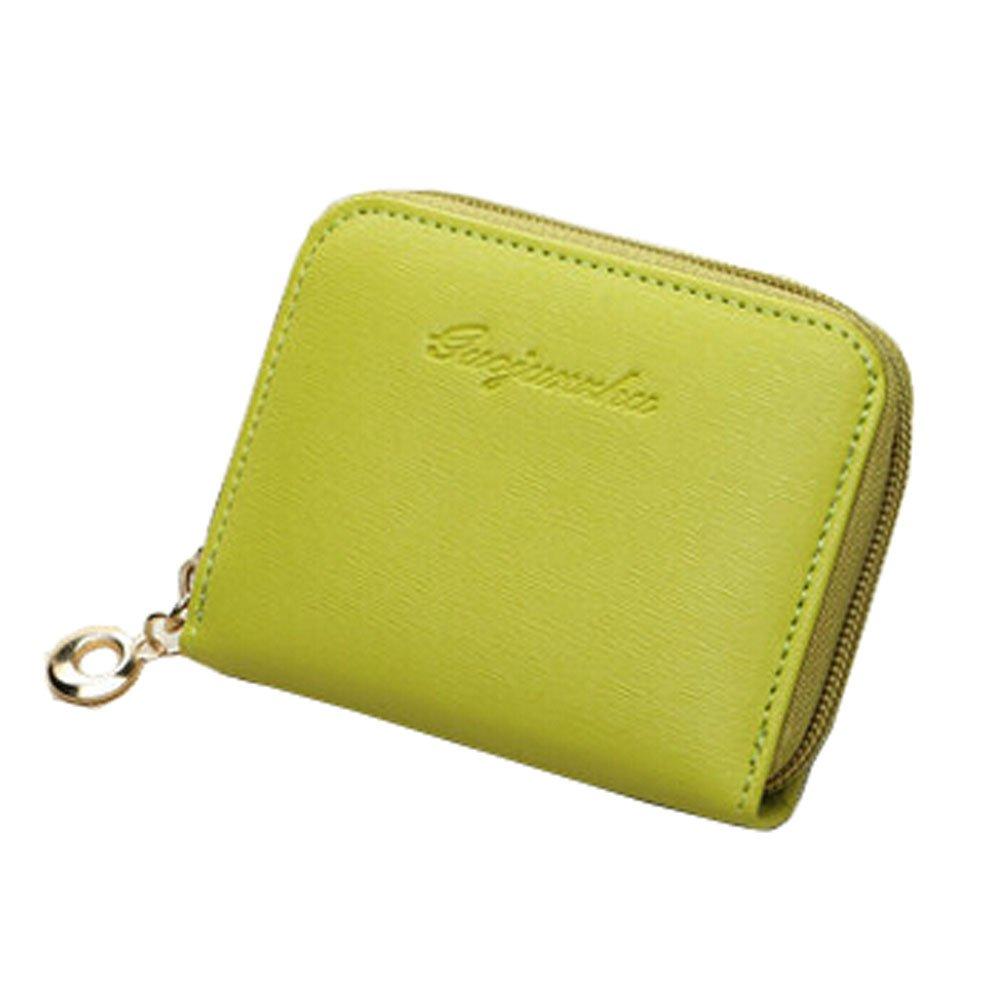 Ladies Fashion Mini Slim Wallet Multicard Portefeuilles Avec les boutons G Blancho Bedding Électronique Cartes