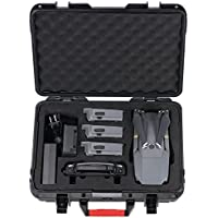 HuiShuTek ABS Waterproof Hard Carrying Case for DJI Mavic Pro, Ideal for Transporting and Storage