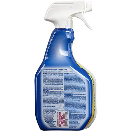 Clorox Disinfecting Bathroom Cleaner Spray Bottle 30 Ounces Import It All