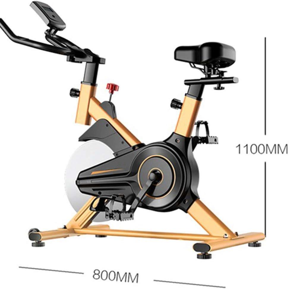 LPsweet Bicicleta Estática De Ciclismo para Interiores, con Soporte para iPad Y Cojín De Asiento Cómodo para Equipos Deportivos De Gimnasio Cardiovascular con Bandas De Resistencia: Amazon.es: Deportes y aire libre