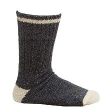 3 Pack Men's Denim Wool Socks - Size 11-12
