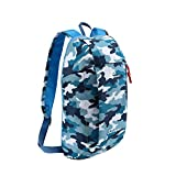 BROGEND 10L Hiking Daypack for Hiking and Travel, Kids Backpack, Casual Backpack, Mini Backpack (Mili-Color-Blue, 10L) For Sale